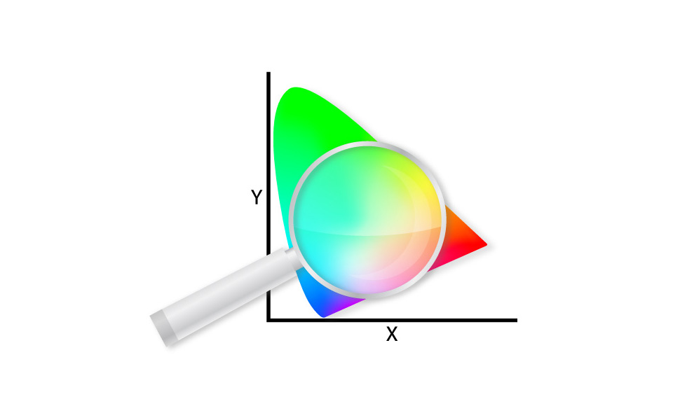 Chromaticity tool icon