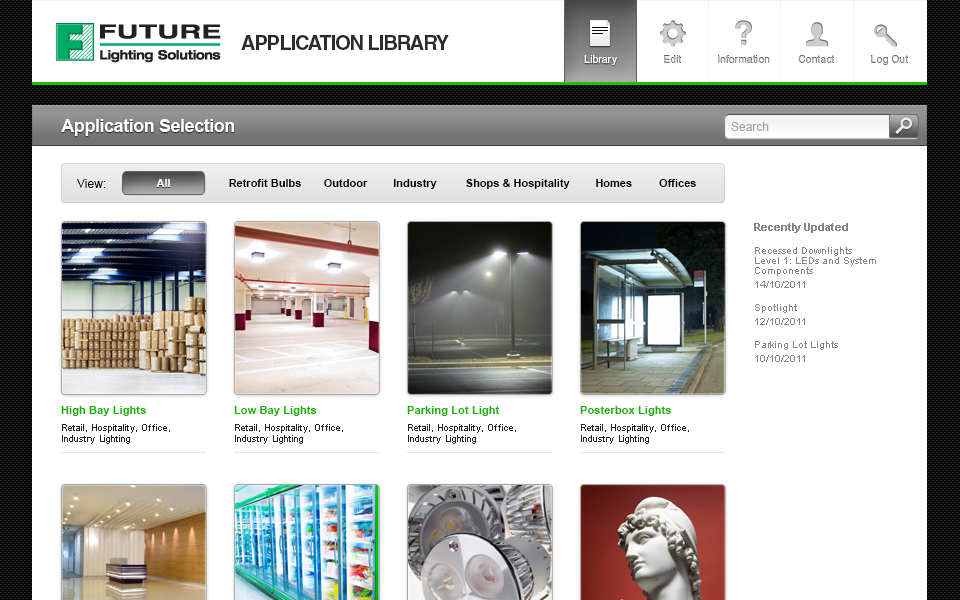 Application Brochure Portal screenshot 2
