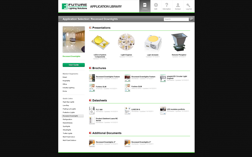 Application Brochure Portal screenshot 3